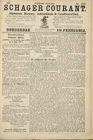 Schager Courant 1874-02-19