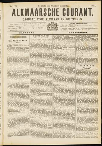 Alkmaarsche Courant 1905-09-09