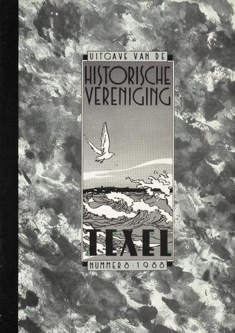 Uitgave Historische Vereniging Texel 1988-09-01