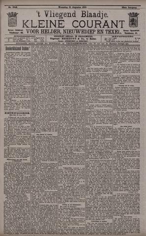 Vliegend blaadje : nieuws- en advertentiebode voor Den Helder 1895-08-21