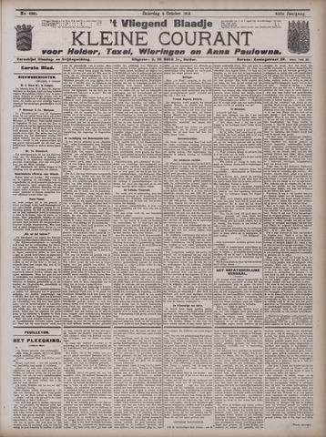 Vliegend blaadje : nieuws- en advertentiebode voor Den Helder 1913-10-04