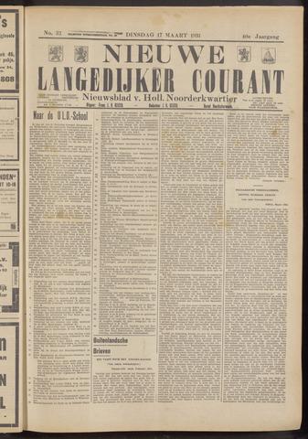 Nieuwe Langedijker Courant 1931-03-17