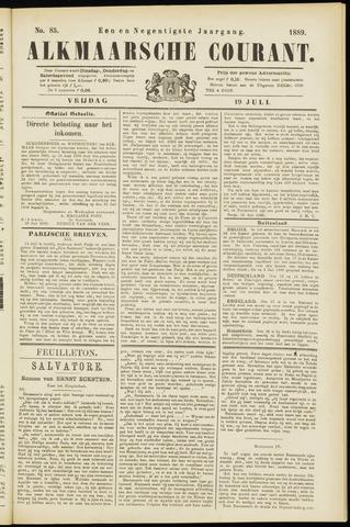 Alkmaarsche Courant 1889-07-19