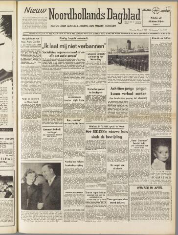 Nieuw Noordhollandsch Dagblad : voor Alkmaar en omgeving 1950-04-26