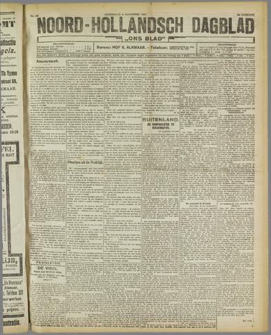 Ons Blad : katholiek nieuwsblad voor N-H 1921-11-17