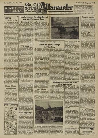 De Vrije Alkmaarder 1949-08-11
