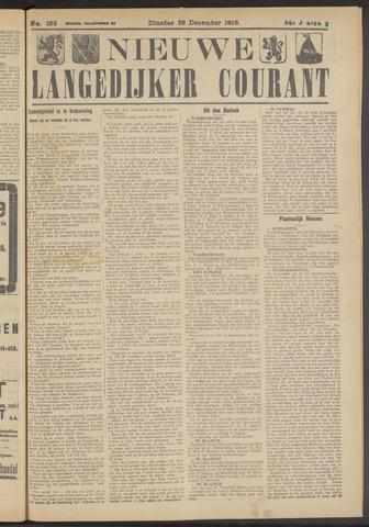 Nieuwe Langedijker Courant 1925-12-29