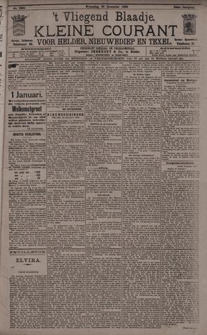 Vliegend blaadje : nieuws- en advertentiebode voor Den Helder 1896-12-30