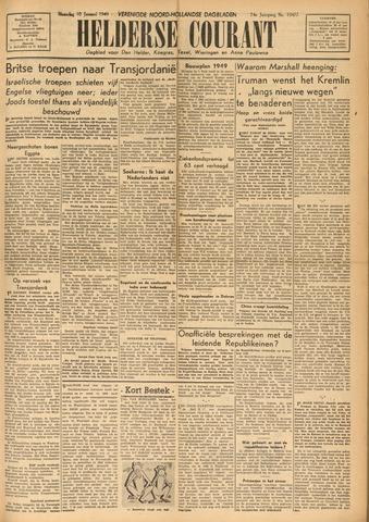 Heldersche Courant 1949-01-10