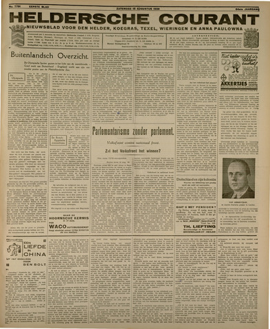 Heldersche Courant 1936-08-15