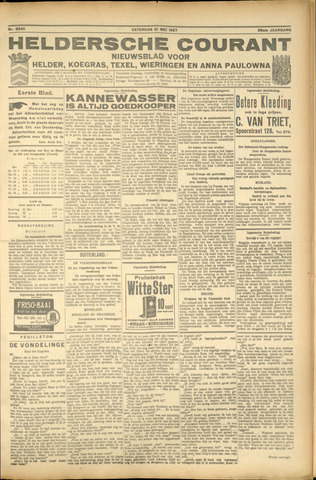Heldersche Courant 1927-05-21