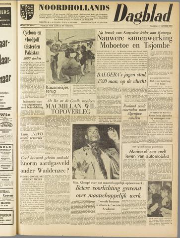 Noordhollands Dagblad : dagblad voor Alkmaar en omgeving 1960-10-17