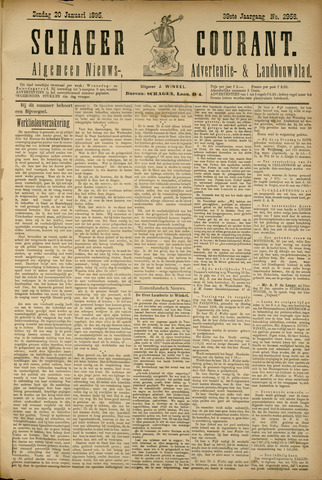 Schager Courant 1895-01-20