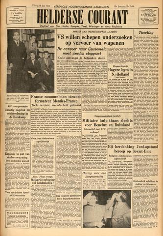 Heldersche Courant 1954-06-18