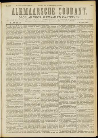Alkmaarsche Courant 1919-10-04