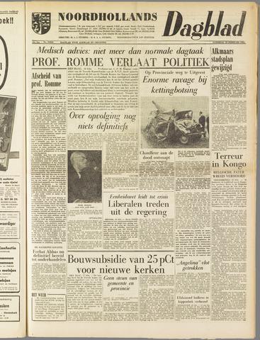 Noordhollands Dagblad : dagblad voor Alkmaar en omgeving 1961-02-18