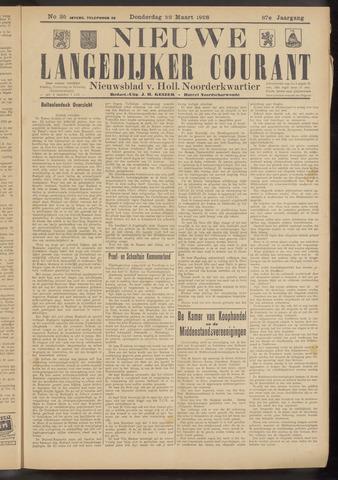 Nieuwe Langedijker Courant 1928-03-22