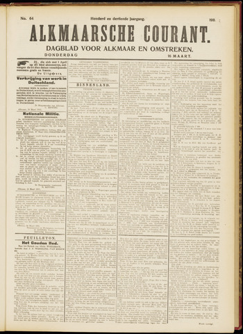 Alkmaarsche Courant 1911-03-16