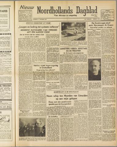 Nieuw Noordhollandsch Dagblad : voor Alkmaar en omgeving 1947-12-27