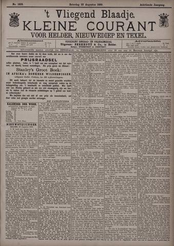 Vliegend blaadje : nieuws- en advertentiebode voor Den Helder 1890-08-23