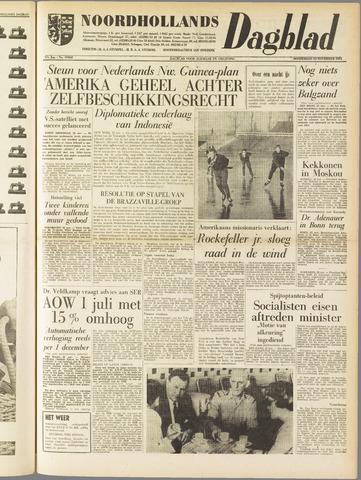 Noordhollands Dagblad : dagblad voor Alkmaar en omgeving 1961-11-23