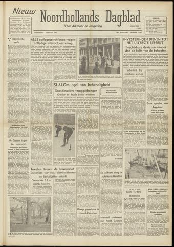Nieuw Noordhollandsch Dagblad : voor Alkmaar en omgeving 1948-02-05