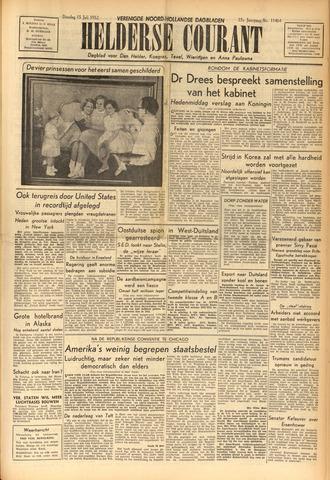 Heldersche Courant 1952-07-15