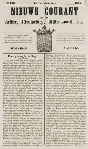 Nieuwe Courant van Den Helder 1862-06-04