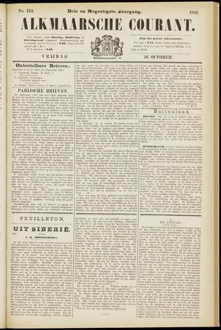 Alkmaarsche Courant 1891-10-16