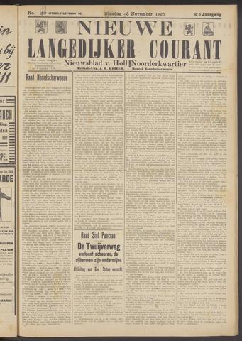 Nieuwe Langedijker Courant 1926-11-23