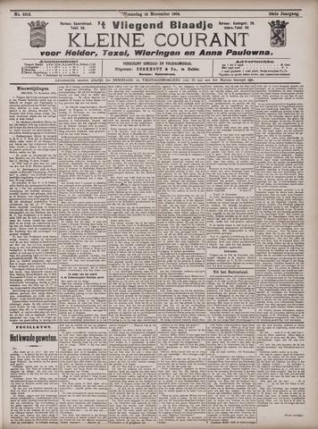 Vliegend blaadje : nieuws- en advertentiebode voor Den Helder 1904-11-16