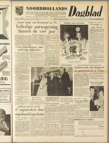 Noordhollands Dagblad : dagblad voor Alkmaar en omgeving 1959-09-19