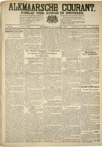 Alkmaarsche Courant 1930-01-16