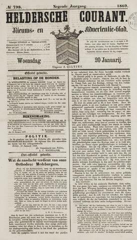 Heldersche Courant 1869-01-20