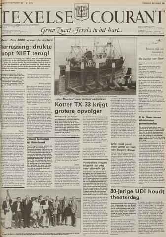 Texelsche Courant 1986-09-09