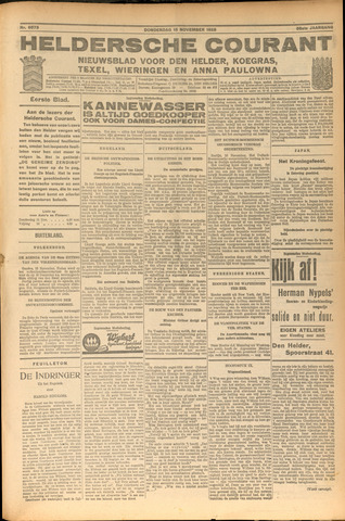 Heldersche Courant 1928-11-15