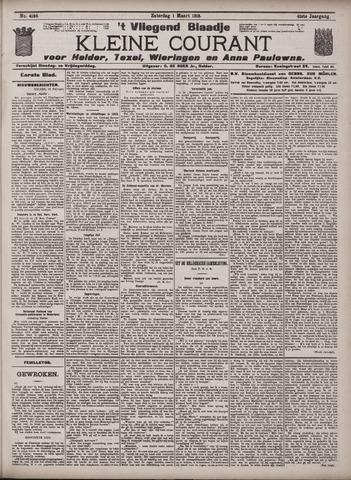 Vliegend blaadje : nieuws- en advertentiebode voor Den Helder 1913-03-01