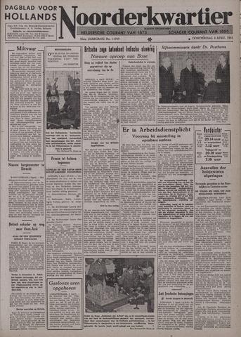 Dagblad voor Hollands Noorderkwartier 1942-04-02