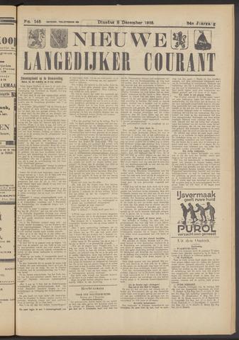 Nieuwe Langedijker Courant 1925-12-08
