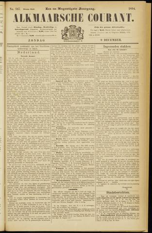 Alkmaarsche Courant 1894-12-09