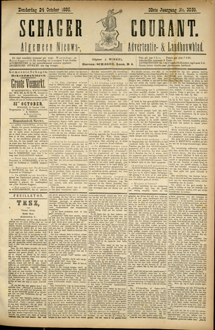 Schager Courant 1895-10-24