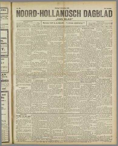 Ons Blad : katholiek nieuwsblad voor N-H 1922-11-07