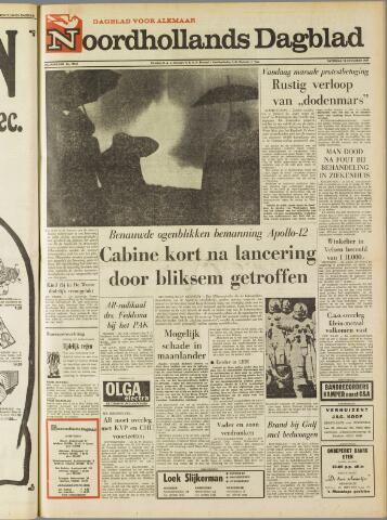 Noordhollands Dagblad : dagblad voor Alkmaar en omgeving 1969-11-15
