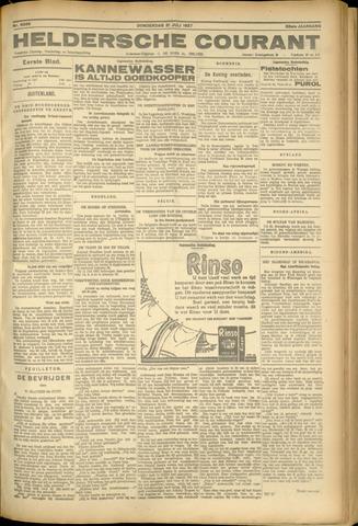 Heldersche Courant 1927-07-21
