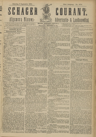 Schager Courant 1911-09-02