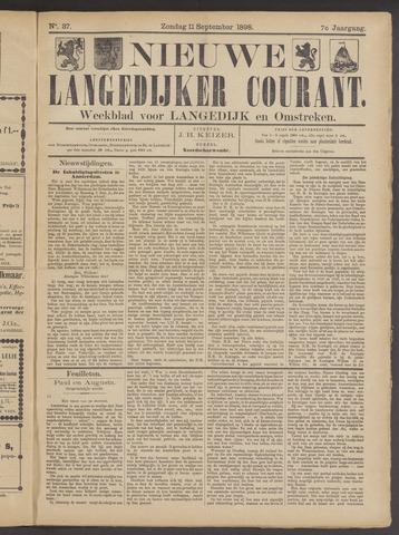 Nieuwe Langedijker Courant 1898-09-11