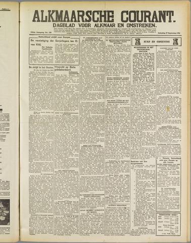 Alkmaarsche Courant 1941-09-27