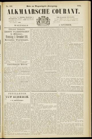 Alkmaarsche Courant 1891-11-04