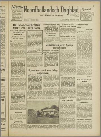 Nieuw Noordhollandsch Dagblad : voor Alkmaar en omgeving 1946-03-05