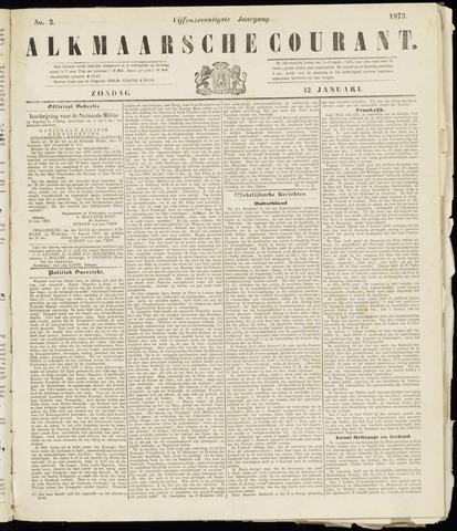 Alkmaarsche Courant 1873-01-12